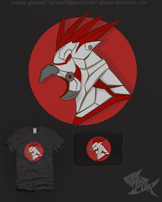 cocktatic by ghozai on Threadless