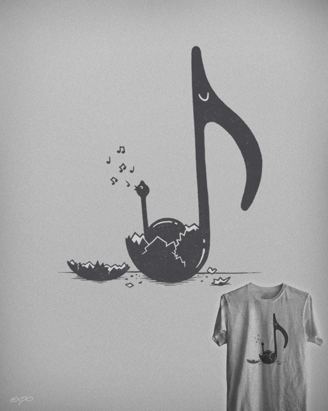 A New Melody by expo on Threadless