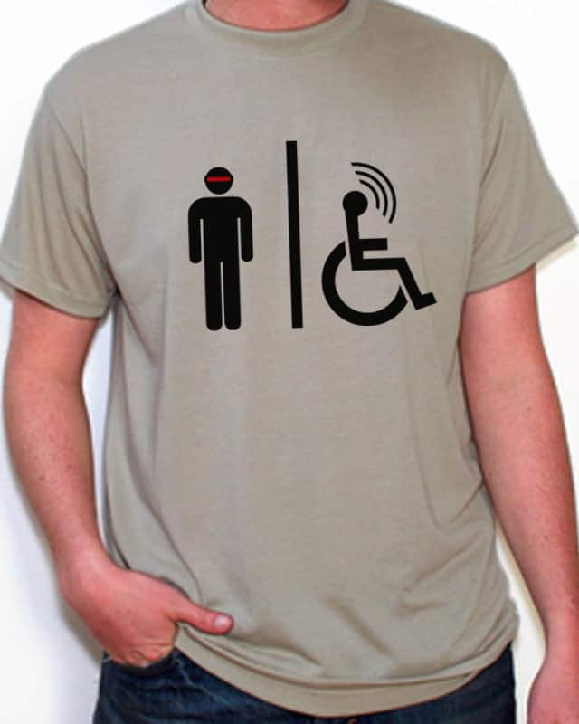 Uncanny Men's Room by ozf5 on Threadless