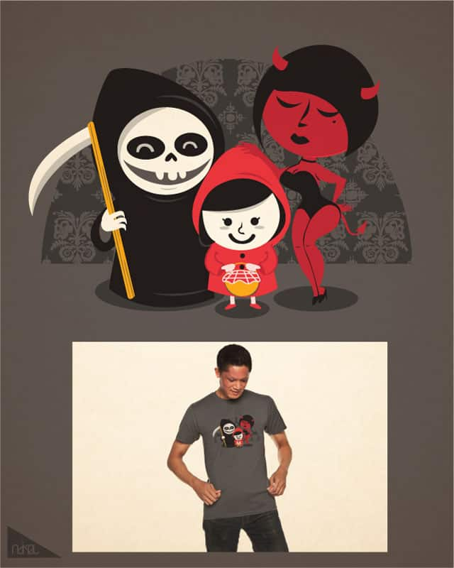 little red riding hood family by ndikol on Threadless