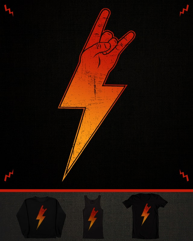 ROCK ON BROS by Johnny Baboon on Threadless