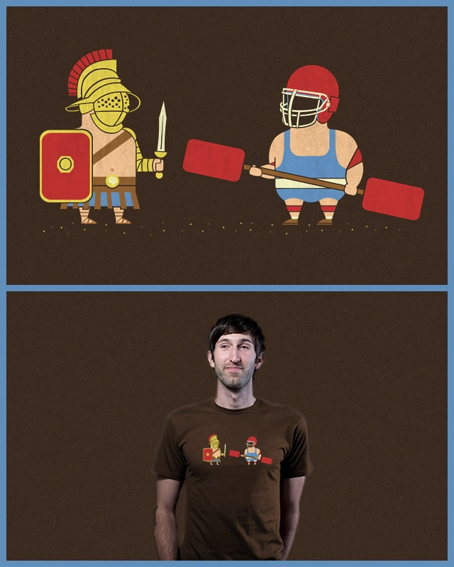 Gladiator Vs Gladiator by TeoZ on Threadless