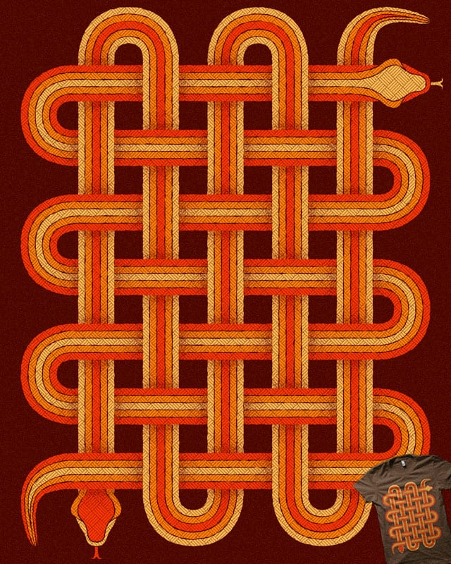 Woven Snake by Binxent on Threadless