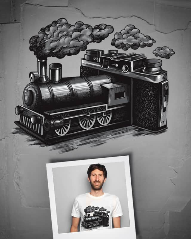Time Traveller by amiosa on Threadless