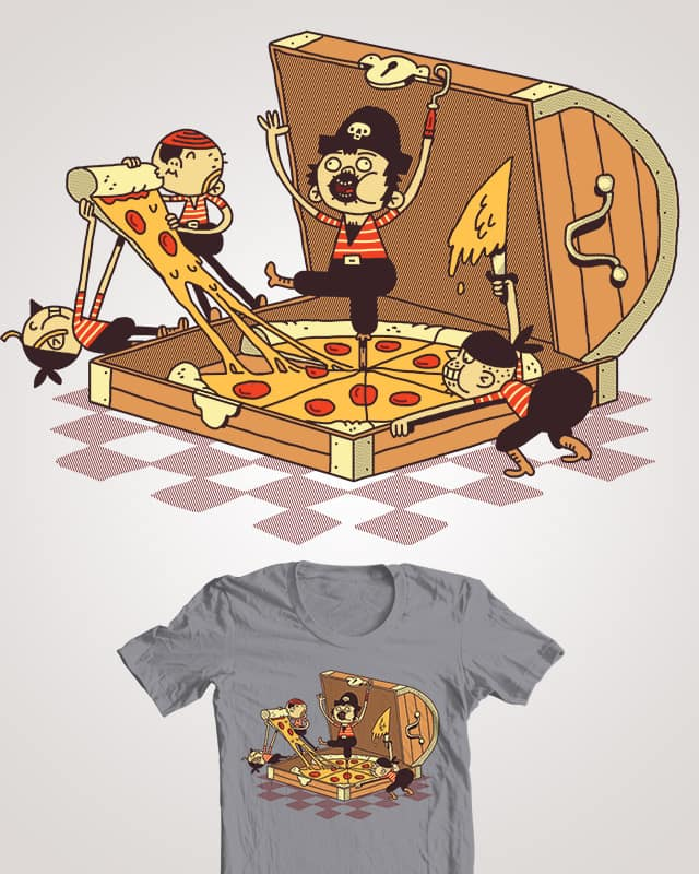 Pizz'a Eight by BurritoGoblin on Threadless