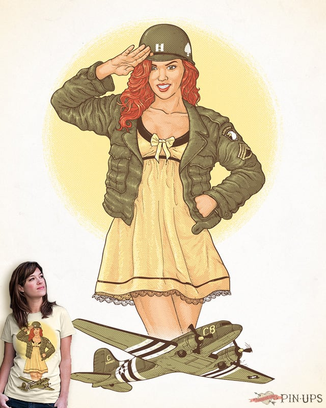 A Guardian Angel For The 101st Airborne by Tony Centeno on Threadless