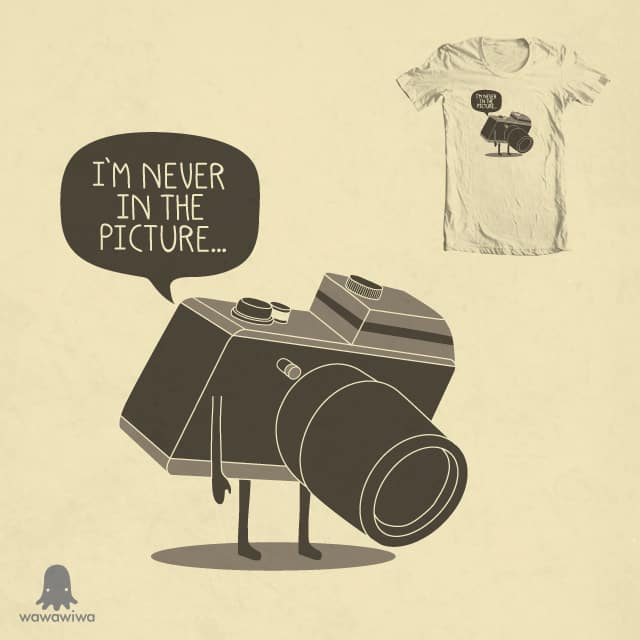 Never in the picture by Andres Colmenares on Threadless