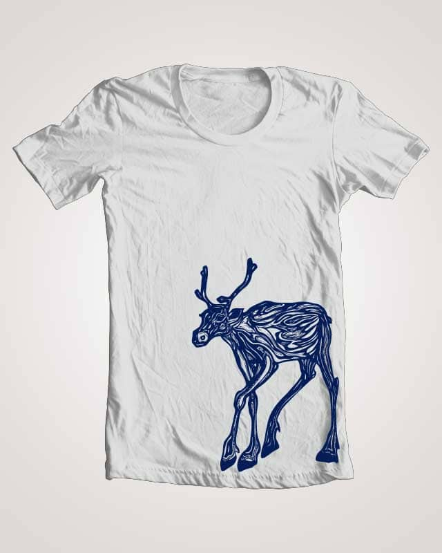 Reindeer by meghantatiana on Threadless