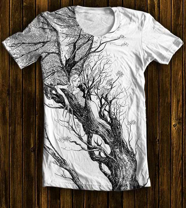 tree nymph by ISABOA on Threadless
