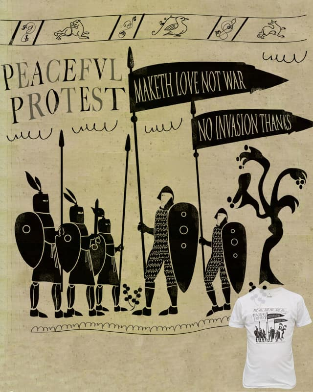 protest March c1065 by Gar0 on Threadless