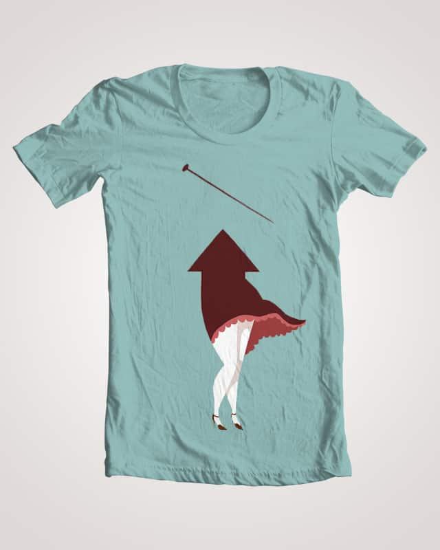 A pin and an arrow by happylittleheart on Threadless