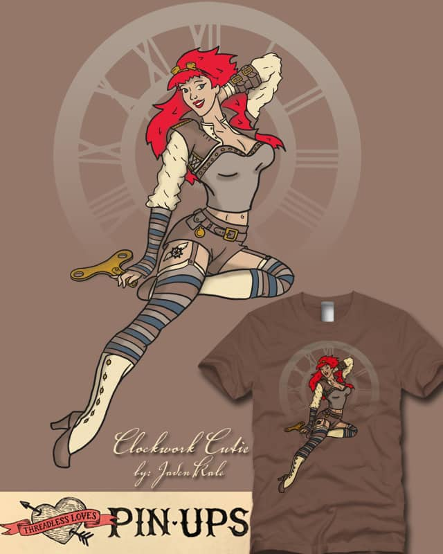 Clockwork Cutie by JadenKale on Threadless