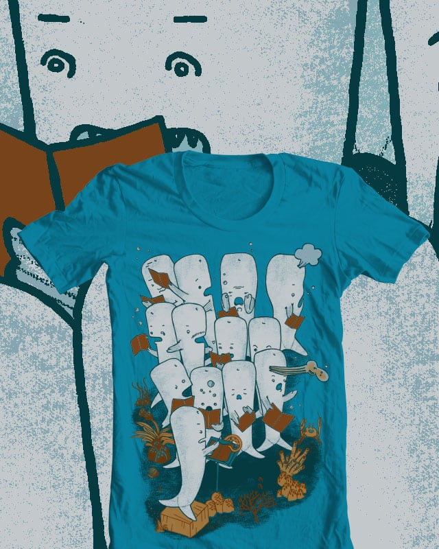 Whale songs by mirisch on Threadless