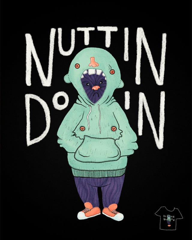 bear's new hoodie by mismonaut on Threadless
