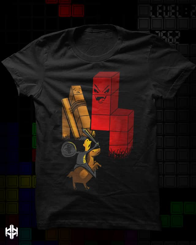 Tetris Super Villain by sayahelmi on Threadless