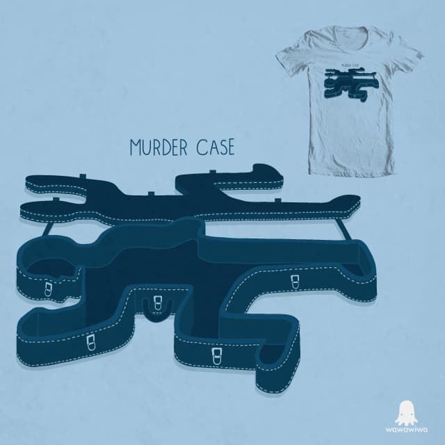 Murder case by wawawiwa on Threadless