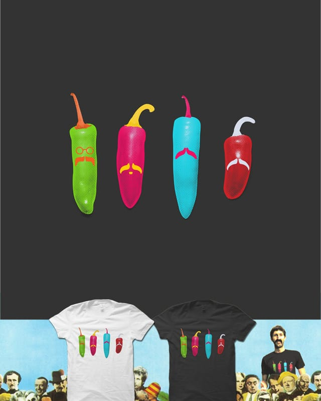 Sgt's Peppers by quick-brown-fox on Threadless