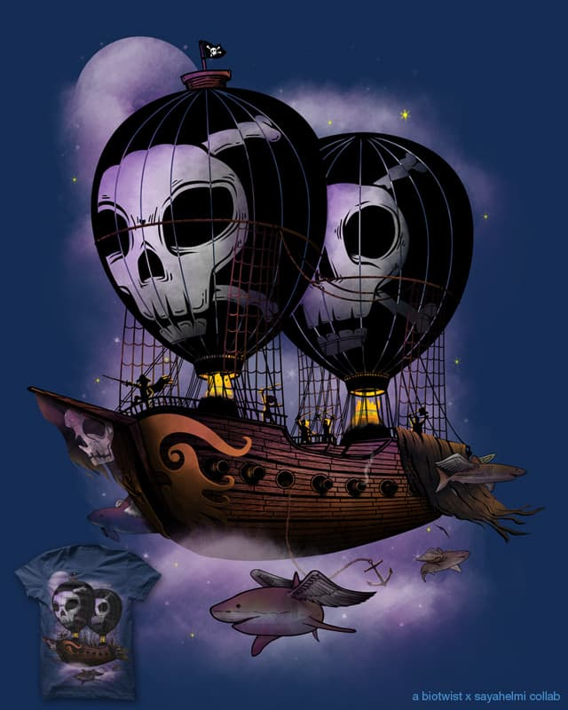 Hot Air Pirates by sayahelmi on Threadless