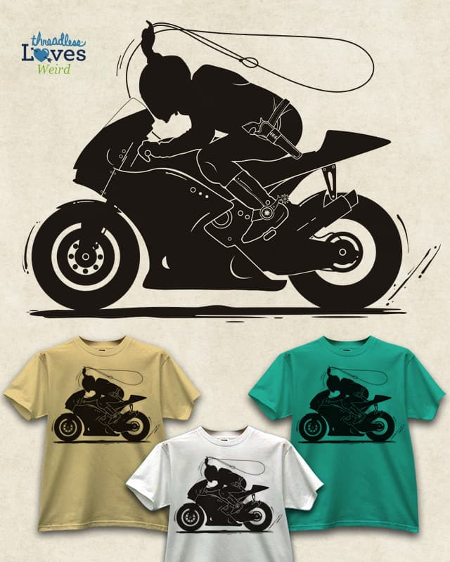 iron horse by netralica on Threadless