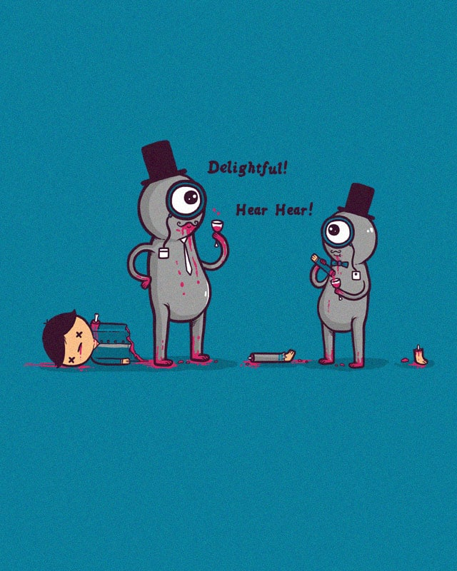 A monocle maketh the monster by randyotter3000 on Threadless