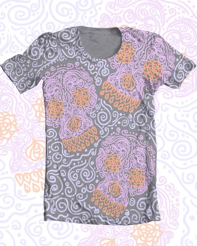 SwirlSkulls by Jordan_Bender on Threadless
