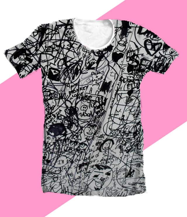 marker pen attack by cazzy-chan on Threadless