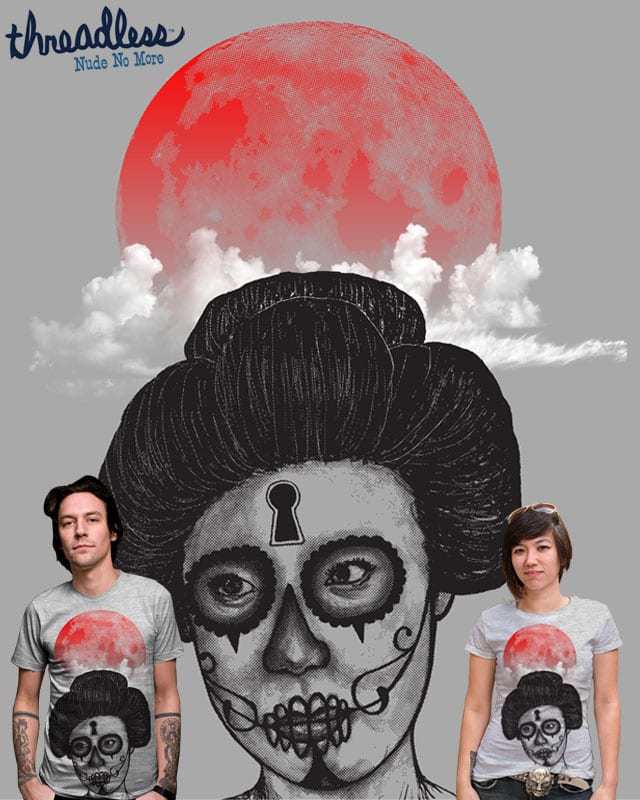red moon by robbyiodized on Threadless