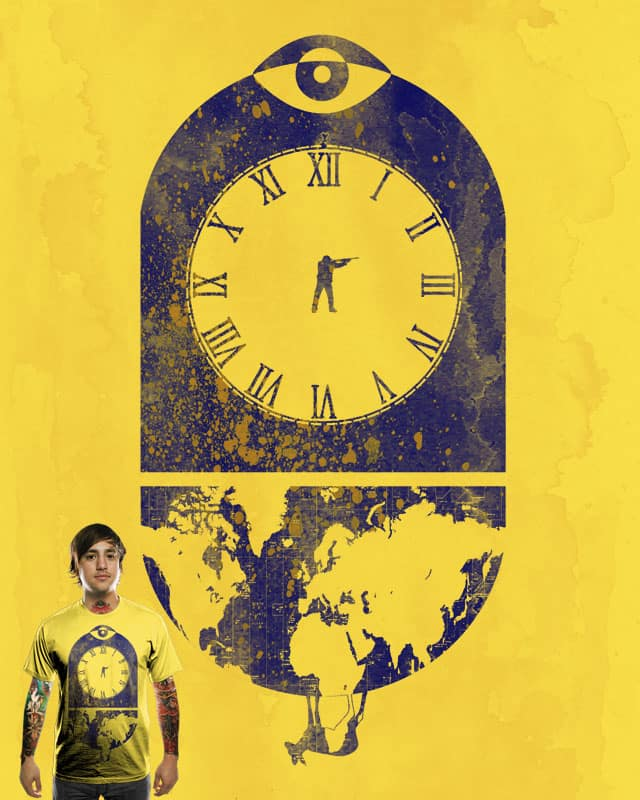 O'Clock by dampa on Threadless