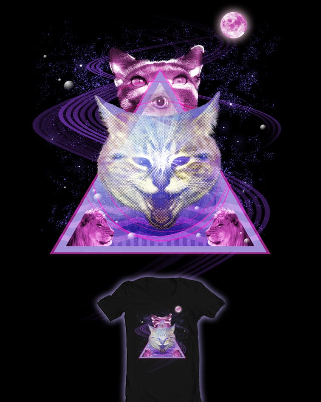 Galacticats by polyesterday on Threadless