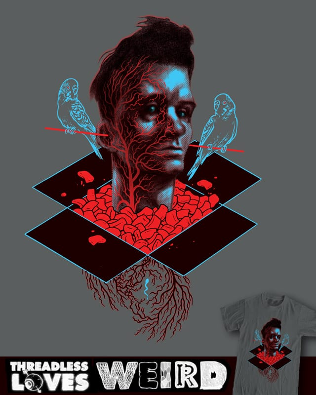 Blood Red Packing Material by Mr Rocks on Threadless