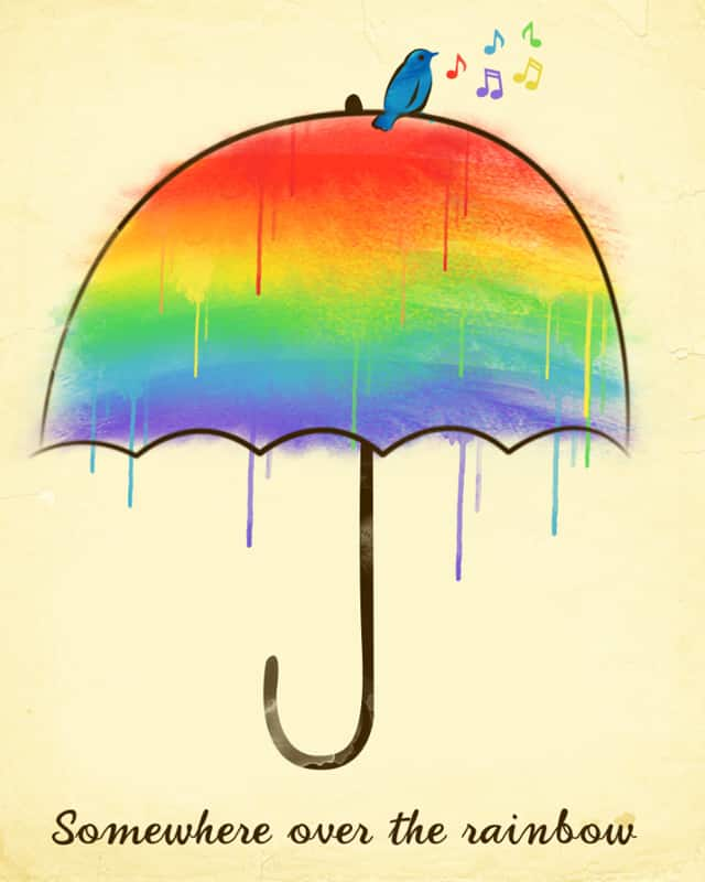 Score Somewhere Over The Rainbow By Dandingeroz On Threadless