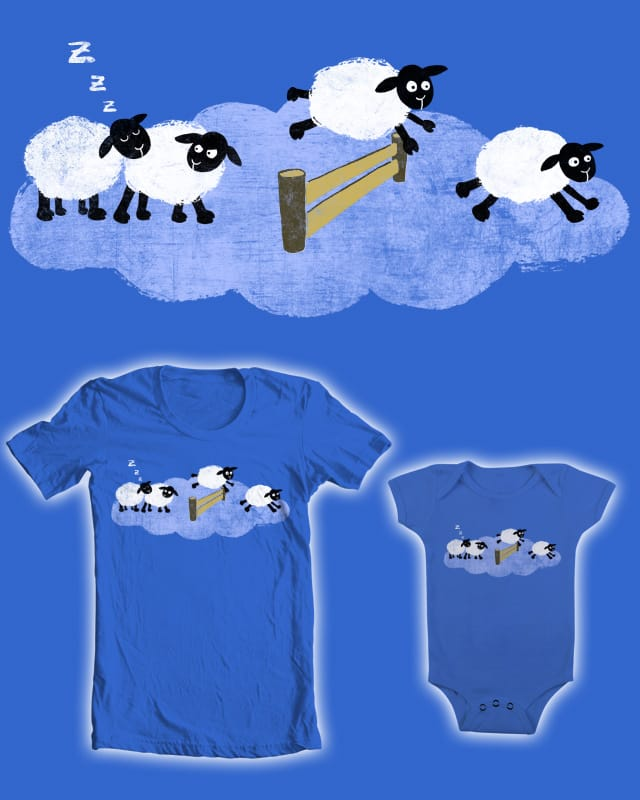 counting sheep by theserestlesshands on Threadless