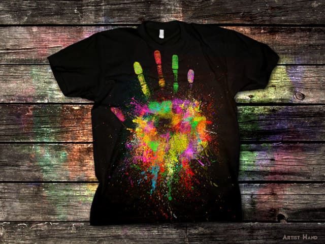 Artist Hand by addu on Threadless