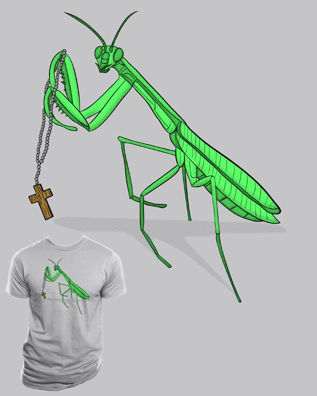 Praying Mantis by Resistance on Threadless