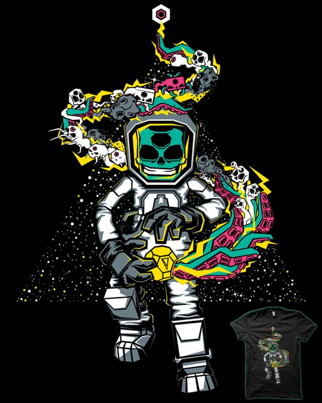 Space Madness by MEKAZOO on Threadless