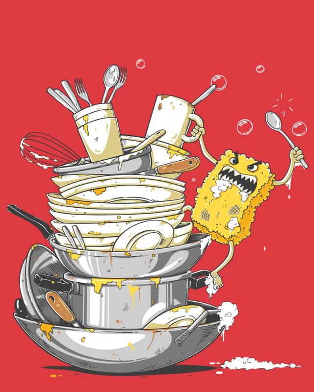 king of dirty dishes by temyongsky on Threadless