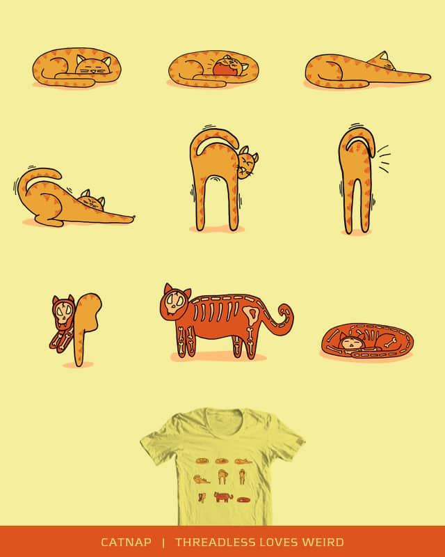 Catnap by bottleHeD on Threadless