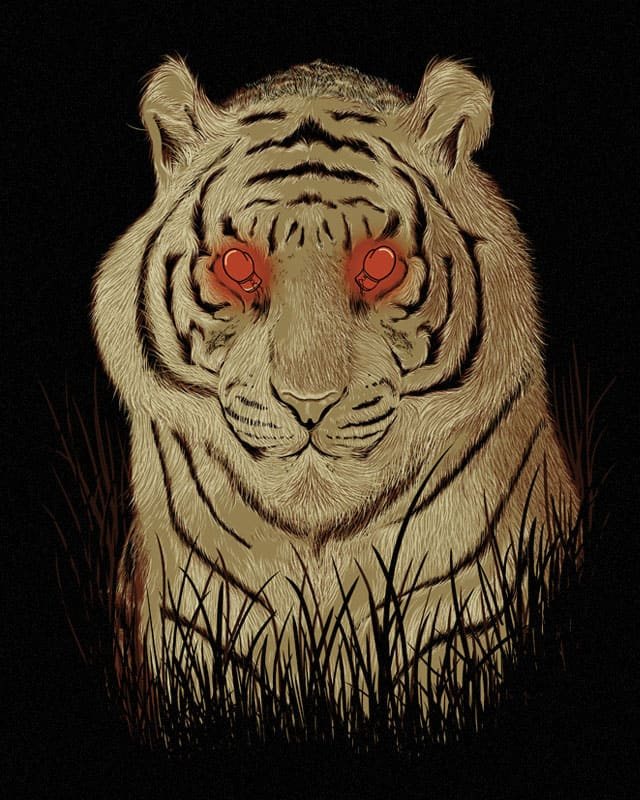 Eye Of The Tiger by GODZILLARGE on Threadless
