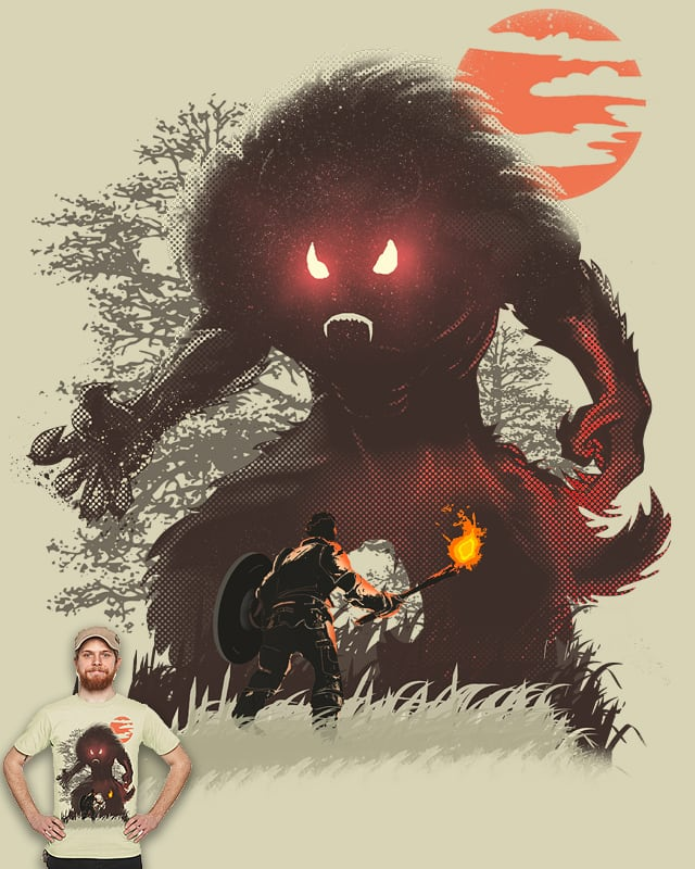 Caught by Fierce Red Eye! by daleconcepts on Threadless