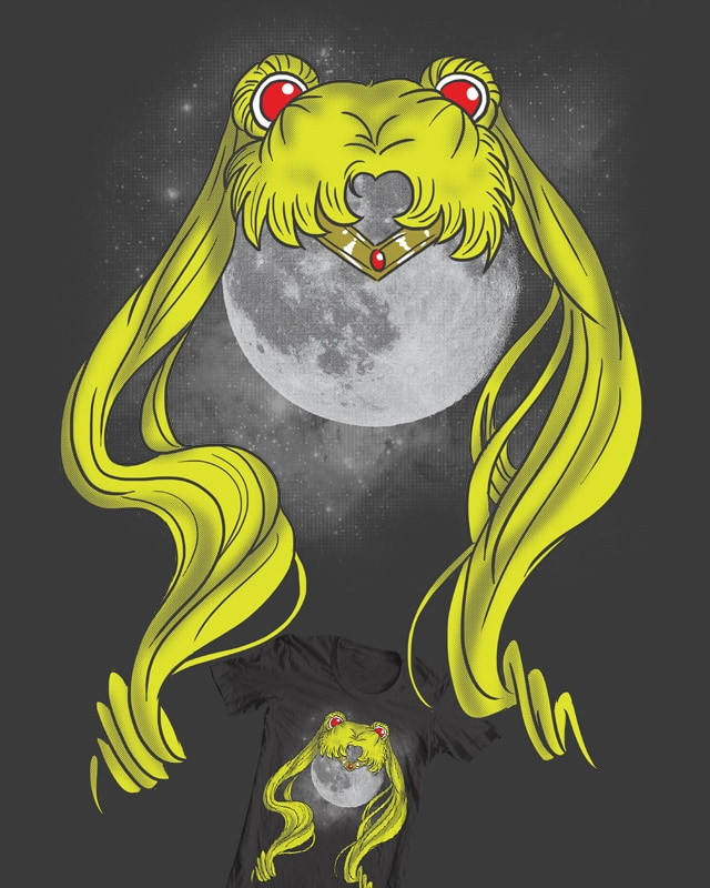 In The Name of the Moon by TheInfamousBaka on Threadless