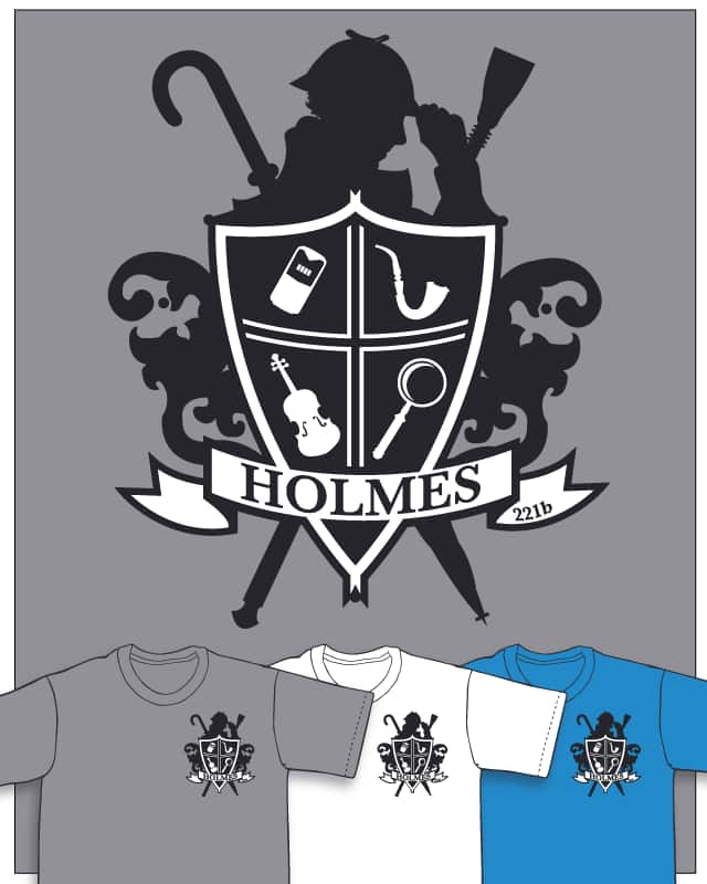 Holmes Family Crest by ryanoxerous on Threadless