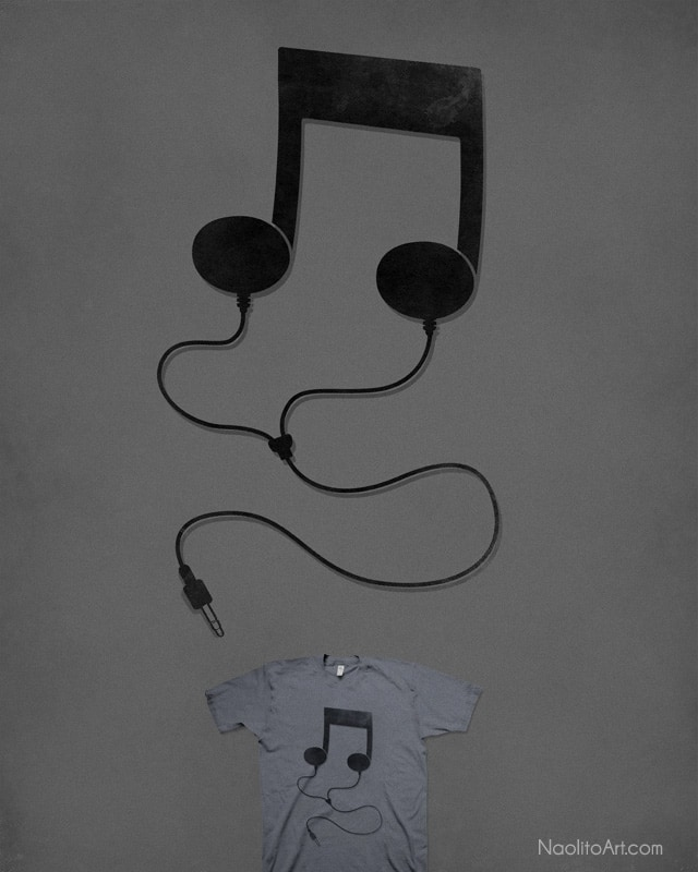 Music to my Ears by Naolito on Threadless