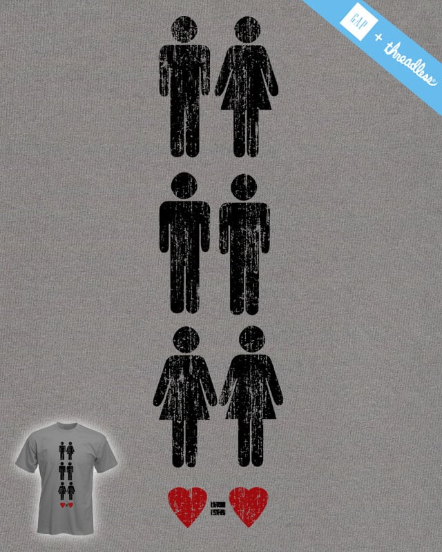 Love is Love by macdoodle on Threadless