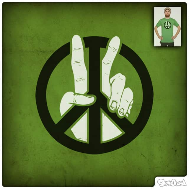 Peace to the 2nd Power by SteveOramA on Threadless