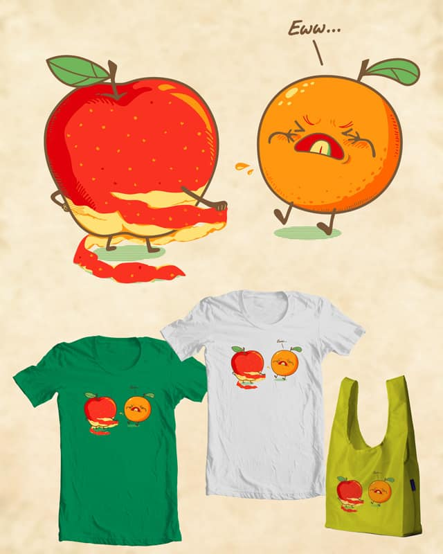 Pervert Fruit head by monkeypim on Threadless