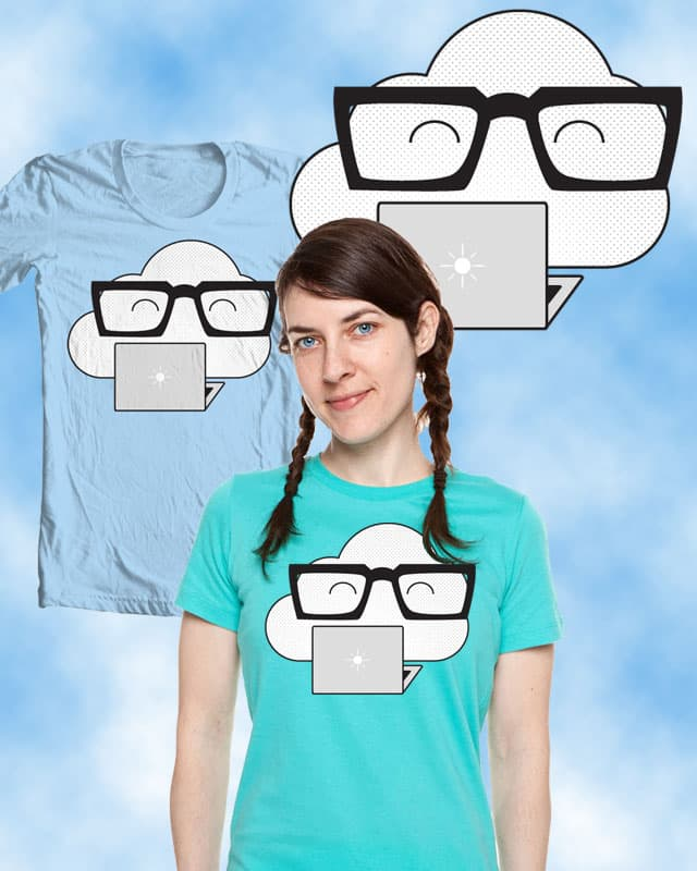 Cloud Computing by boxless on Threadless