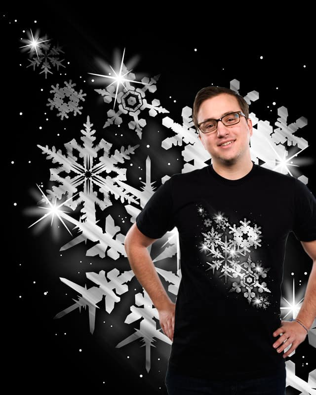 Snow Flakes of Hope by tobiasfonseca on Threadless