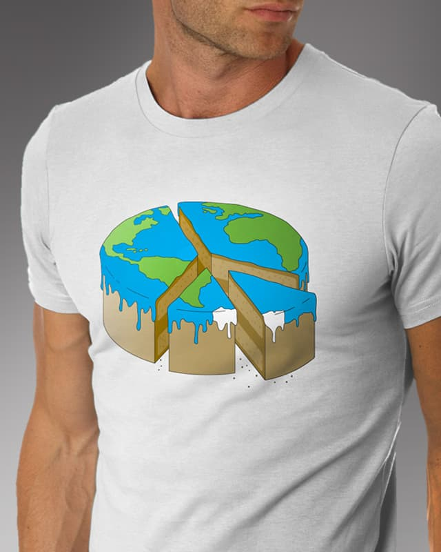 WORLD PIECE by DC Design on Threadless