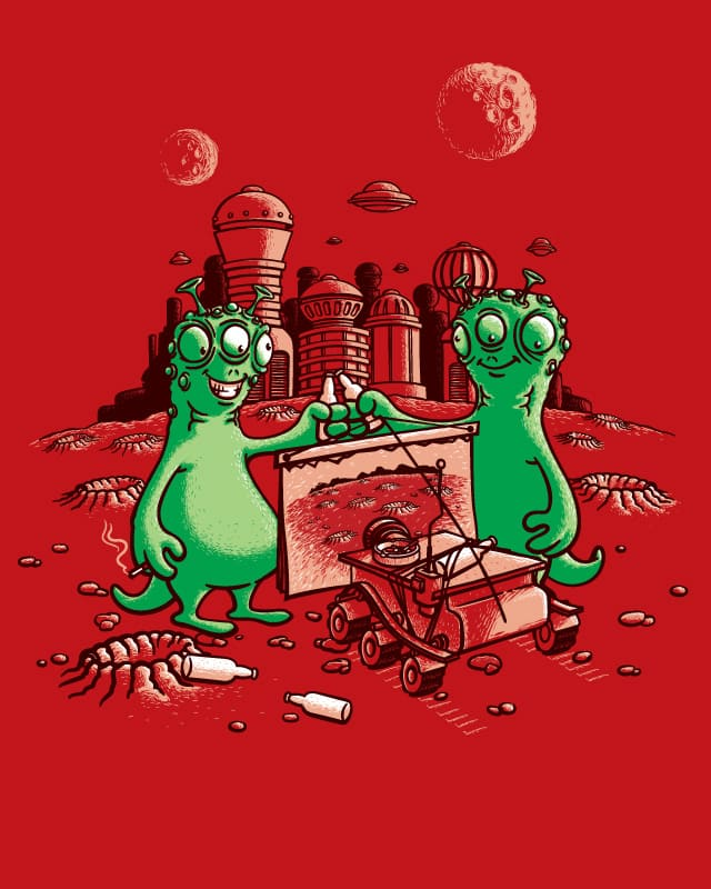 Dead Planet by angrymonk on Threadless