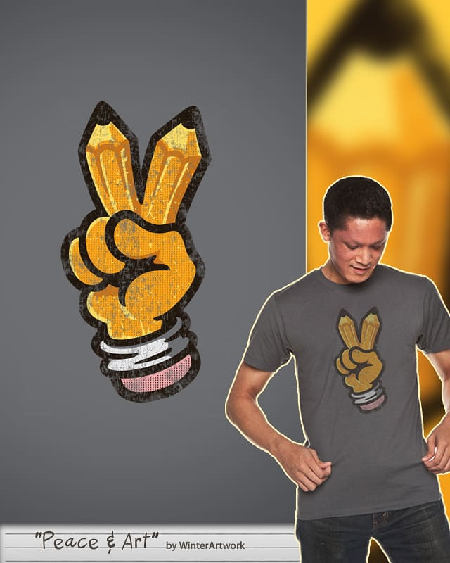 Peace & Art by Winter the artist on Threadless
